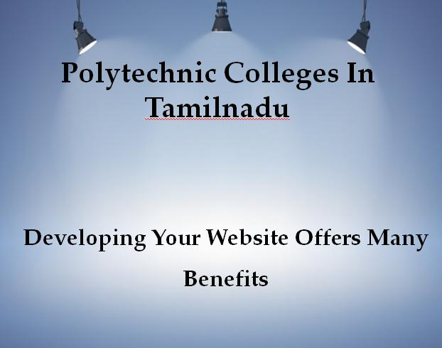 Polytechnic Colleges in Tamilnadu