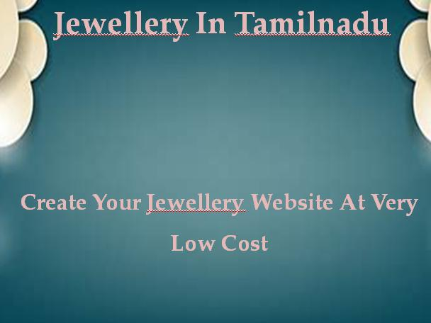 Jewellery in Tamilnadu