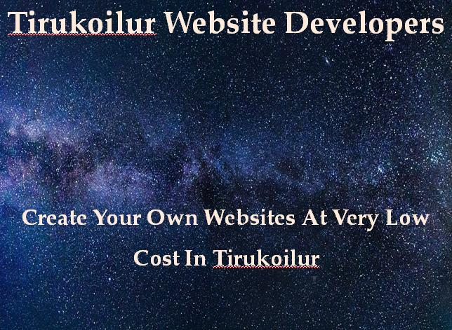 Tirukoilur Website Developers