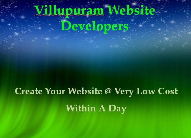Villupuram Website Developers