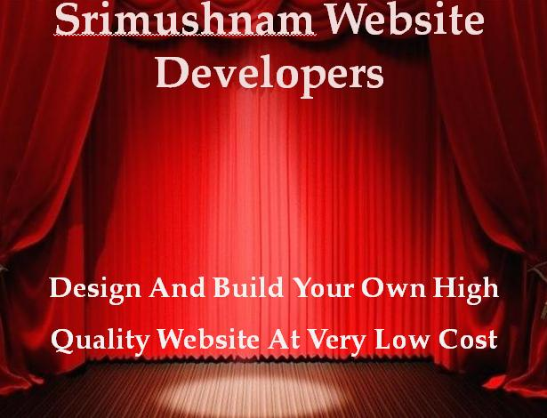Srimushanam Website Developers