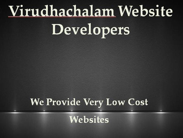 Virudachalam Website Developers