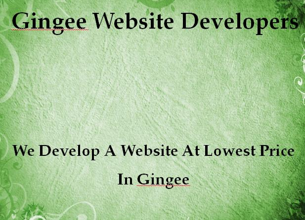 Gingee Website Developers