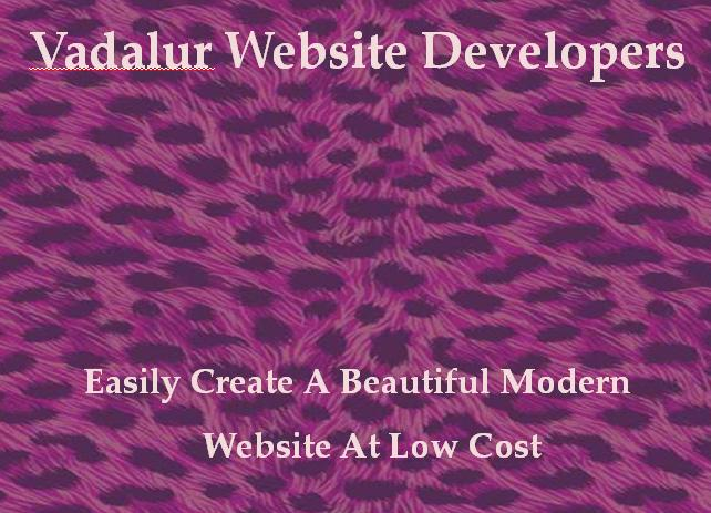 Vadalur Website Developers