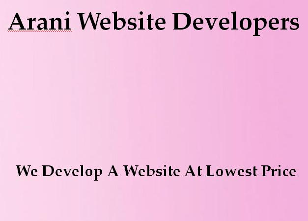 Arani Website Developers