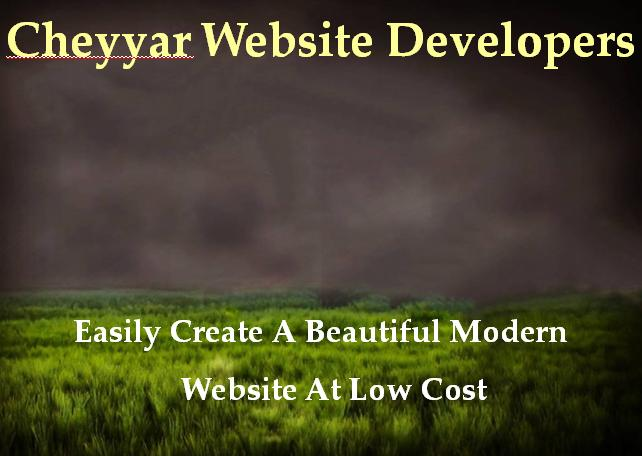Cheyyar Website Developers