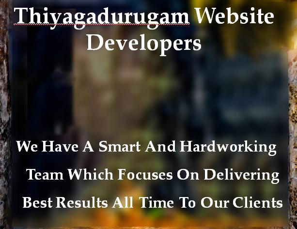Thiyagadurugam Website Developers