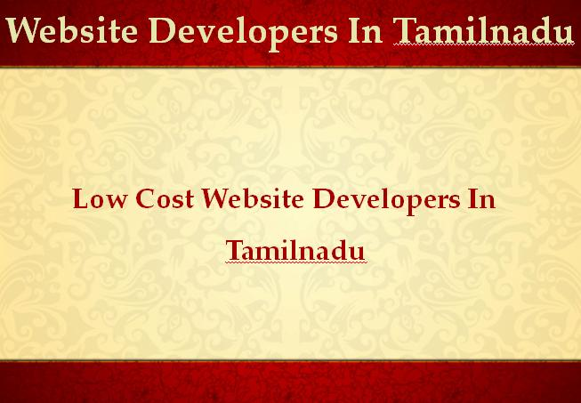 Tamilnadu Website Developers