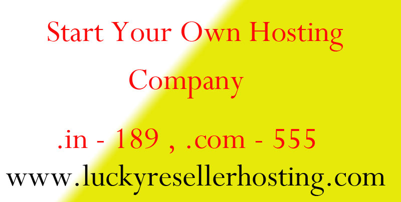 Hosting Reseller Account